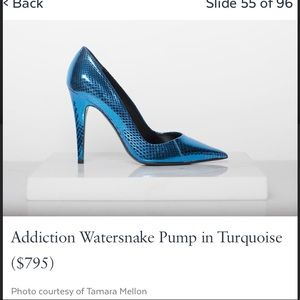 Tamara Mellon Shoes - Tamara Mellon snakeskin heels! EUC!
